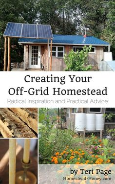Are you ready to go off-grid? Creating Your Off-Grid Homestead is a 95-page downloadable eBook with equal parts practical information, encouragement, and radical homesteading inspiration. I will share with you how our family created an off-grid homestead