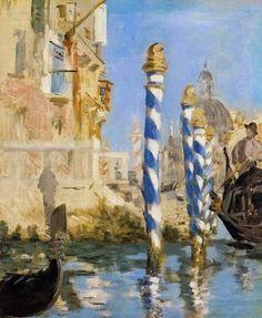 Édouard Manet - Il Canal Grande a Venezia