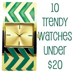 watches trendy | 10 Trendy Watches Under $20 | You Put It On