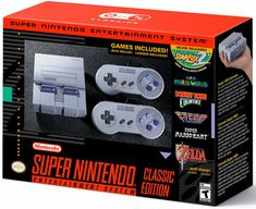 #SNES entertainment system: super nes classic edition from $90.0