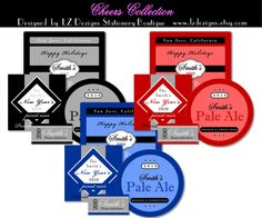 Check out these bottle label templatesyou can personalize for parties, celebrations and more!