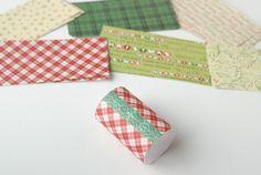 Paper Pyramid Advent Calendar