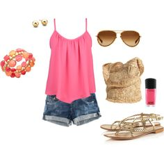 SUMMER, created by lcatali.polyvore.com