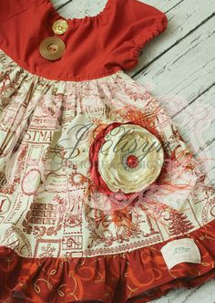 """~NEW~ """"A Christmas Melody"""" dress by JElisynBoutique"""