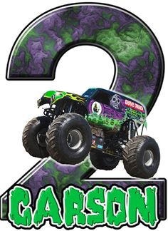 Monster Truck Grave Digger Birthday Party t by ThemesAndDreams1, $4.25