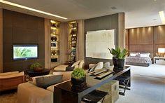 Débora Aguiar vence o prêmio de melhor ambiente da Casa Cor São Paulo Home Design Decor, Home Theater Design, Dream Home Design, Luxury Interior, Decor Interior Design, Interior Architecture, House Design, Home Decor, Living Room Lounge