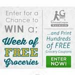 Win $250 Worth Of Groceries!