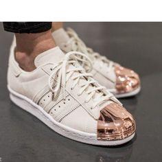 b2f3bd991cff Adidas Superstar 80s Metal Toe Size 6.5 S75057 Nwb