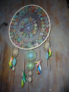 Crochet Dreamcatcher..