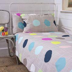 polka dot bedding, lisa stickley, london