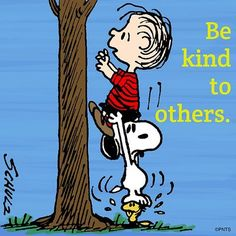 Charlie Brown & Snoopy- Be Kind To Others Peanuts Gang, Peanuts Cartoon, Meu Amigo Charlie Brown, Charlie Brown Und Snoopy, Snoopy Und Woodstock, Snoopy Love, Snoopy Classroom, Snoopy School, Classroom Decor