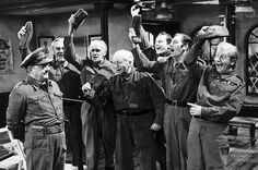 In Dad's Army came fourth in a BBC poll to find Britain's best sitcom. British Comedy Series, British Sitcoms, Jimmy Perry, John Le Mesurier, John Laurie, Durham Museum, Dad's Army, Theme Tunes, Humor