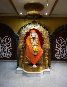 Sai Baba Pictures, Sai Baba Photos, Hanuman Pics, Sai Baba Hd Wallpaper, Baba Image, Om Sai Ram, Good Morning Images, Temple, Life