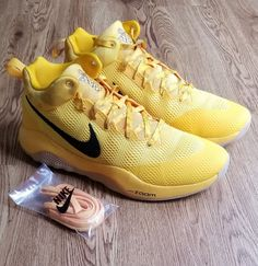 premium selection 9b185 bd377 Nike Zoom Hyperrev 2017 Limited Basketball Shoes Men s Size 13 Yellow for  sale online