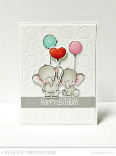 Birthday Elephants C