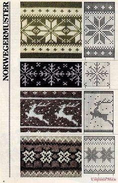 Knitting Machine Patterns, Knitting Charts, Knitting Stitches, Knitting Designs, Embroidery Stitches, Tapestry Crochet, Knit Crochet, Etnic Pattern, Norwegian Knitting