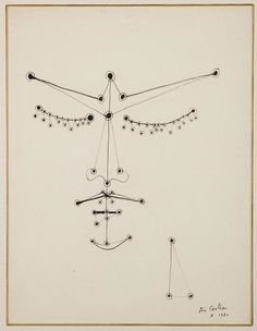 Jean Cocteau - Orphée Aux Yeux Perlés / Orpheus with Pearl Eyes. 1950