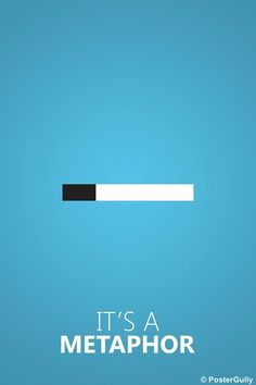 Home Decor Poster Online Shopping India | It's a Metaphor | Fault In Our Stars | PosterGully