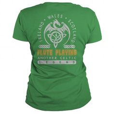 Cool  FLUTE PLAYING JOB LEGEND PATRICK'S DAY T-SHIRTS T shirt