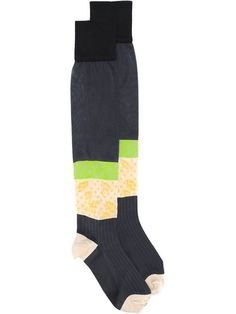 Maison Margiela floral intarsia socks