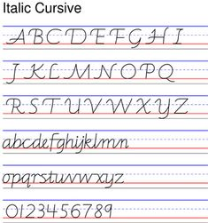 examples of handwriting styles cursive and learning. Black Bedroom Furniture Sets. Home Design Ideas