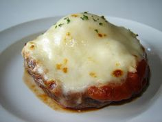 Meatless Meals for Meat Eaters: Lasagna Stuffed Portabella Mushroom Caps