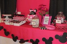 Charlotte's 5th Birthday - Minnie Mouse Extravaganza!! | CatchMyParty.com