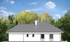 Projekt domu Willa Parterowa 2 135,75 m² - koszt budowy - EXTRADOM Dream House Plans, Small House Plans, Classical Architecture, Architecture Design, Precast Concrete, Bungalow House Design, Modern Farmhouse Exterior, 3 Bedroom House, Natural Home Decor