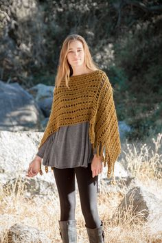 fall crochet wrap from annies signature designs - autumn glow collection