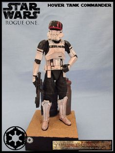 Hover Tank Commander - Rogue One (Star Wars) Custom Diorama / Playset