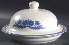 Pfaltzgraff YORKTOWNE (MADE IN USA) Round Butter Dish 7054370  | eBay