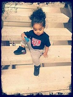 im convinced my future daughter will look like this. (taken, i marry a mexican) Baby Kind, Pretty Baby, My Baby Girl, Tomboy Baby Girl, Baby Girls, Kid Swag, Baby Swag, Beautiful Black Babies, Beautiful Children