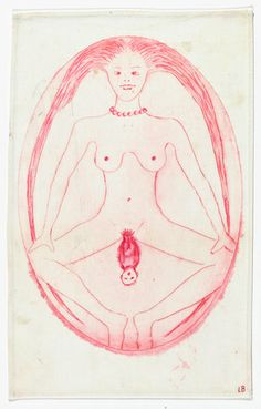 Louise Bourgeois. The Cross-Eyed Woman Giving Birth, 2005.