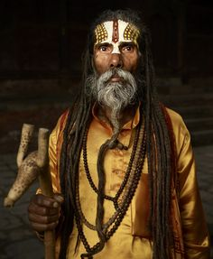 Sadhu | Hindu holy man, India photographed by Ken Hermann.