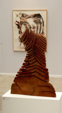 Wood sculpture... Love this