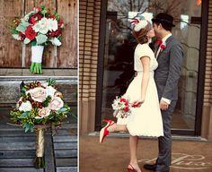 bouquet sposa scarpe rosse - Cerca con Google