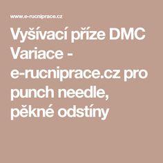 Vyšívací příze DMC Variace - e-rucniprace.
