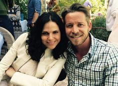 Lana went to Sean & his wife's baby shower <3 (May 3, 2015) #OutlawQueen