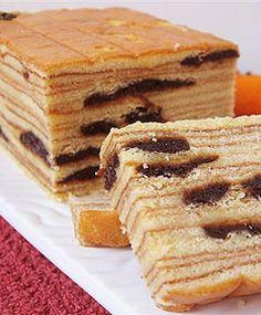 [Resep] Kue Lapis Legit Prune http://www.perutgendut.com/read/kue-lapis-legit-prune/1599 #Resep #Food #Kuliner #Cake