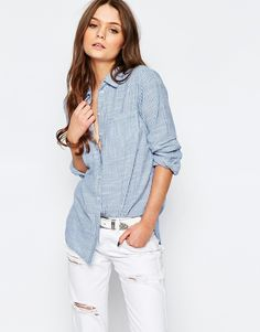 New Look Relaxed Stripe Shirt Code produit : 854532