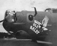 "B-24 Liberator - ""OLE BALDY""."