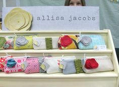 yay! this setup/display is amazing. Loving the top graphic too, like an etsy banner! (c) allisa jacobs
