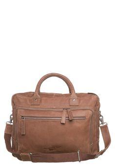ac0ca4a6fb664 Laptop bag - cognac   Zalando.co.uk 🛒
