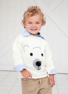 Polar bear sweater.
