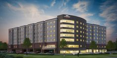 A cool sky and lively night lighting really make this hotel stand out. Portfolio - United Renderworks