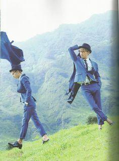 "Shinjiro Atae of AAA (≧◡≦) (photo from Atae's photo book ""Atae's Best"". Please buy to support him!)"
