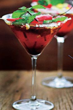 Martini link send you to a recipe in a different language.  Comment me what it says in English.