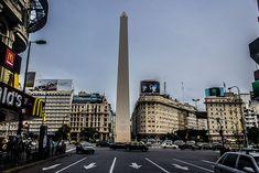 Una muestra del extraño Buenos Aires que visitamos, avenidas casi sin coches por las fiestas
