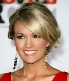 Carrie Underwood, love all her hairstyles! Updo