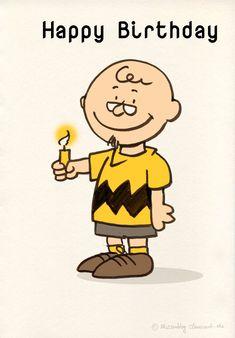 Charlie Brown Birthday Happy Greeting Cards Greetings Cartoon